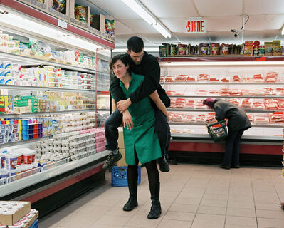 Alana Riley, 'At the Grocery Store (Surrender)', 2004