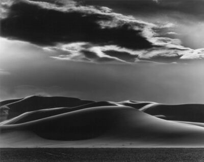 Brett Weston, 'Dunes & Clouds, Shoshone', 1969
