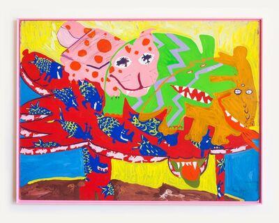 Maija Peeples-Bright, 'SeaSaw Beast', 1965