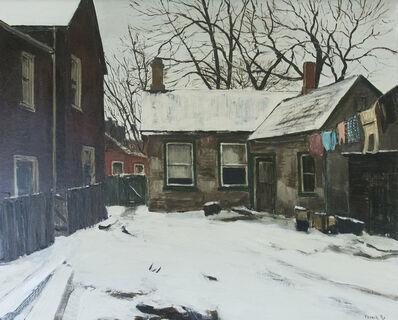 Albert Jacques Franck, 'Backyard Monro St', 1963