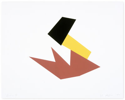 Joel Shapiro, 'Boat, Bird, Mother and Child (d)', 2009