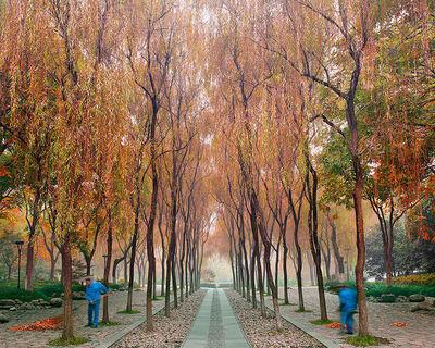 David Burdeny, 'Sweepers, West Lake, Hangzhou, China', 2011