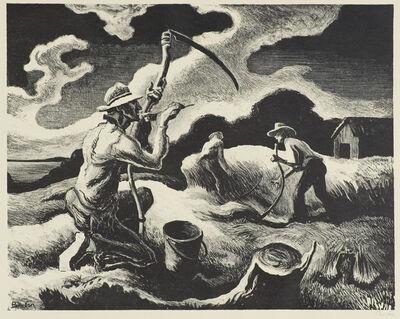 Thomas Hart Benton, 'Island Hay', 1945
