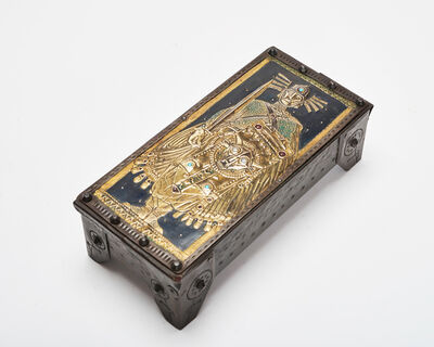 Alfred Daguet, 'Valiant Knight Box', ca. 1900