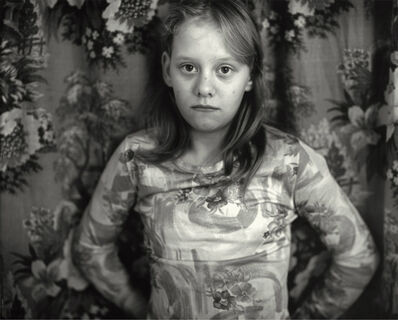 Sally Mann, 'Cindy in Front of the Curtain', 1983-1985