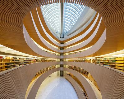 Reinhard Gorner, 'Law Library,  Zurich, Switzerland', 2018