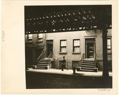 Bill Witt, 'Under The L', 1941