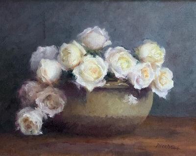 Pamela Pindell, 'White Roses', 2021