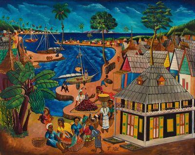 Pauleus Vital, 'Jacmel Seaside Market ', ca. 1960's