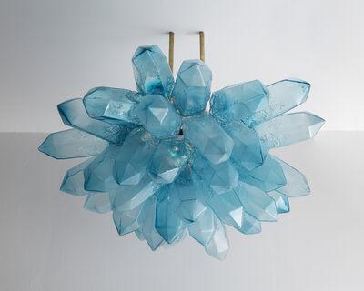 Jeff Zimmerman, 'Illuminated Crystal Cluster Sculpture', 2015
