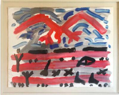 A.R. Penck, '     Helt des Adler    ', 1982