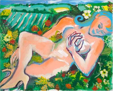Elvira Bach, 'Im Radieschenfeld', 2010