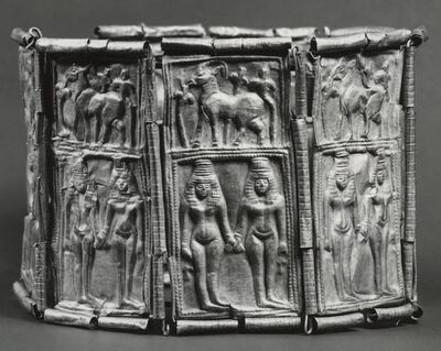 'Crown with Goddesses and Ibexes', 10th-9th century B.C.