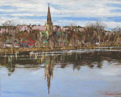 Glenn Hall, 'Cathedral and Saint John River', 2019