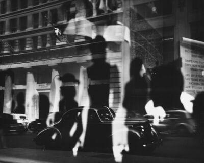 Lisette Model, 'Reflections, Rockefeller Center, NY', c. 1945 / c. 1975
