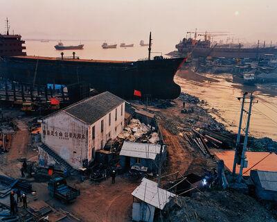 Edward Burtynsky, 'Shipyard #5 Qili Port, Zhejiang Province, China', 2004