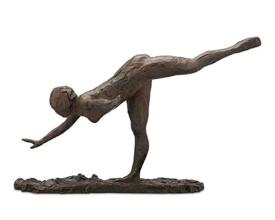 Edgar Degas, 'Arabesque on Right Side, Right Hand Close to Earth, Left Arm Outside', 1998