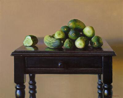 "Jeffrey T Larson, '""Cucumber Harvest""', 2018"