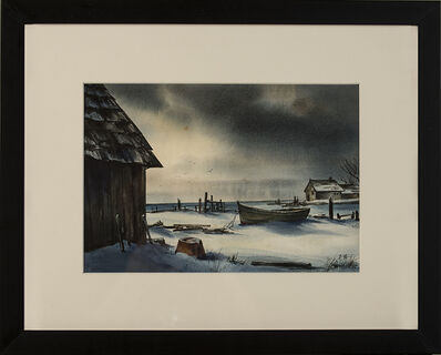 Edward Hopper, 'Cape Cod Winter', ca. 1900