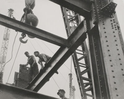 Lewis W. Hine, 'The Steel Workers are Always on Top', ca. 1930