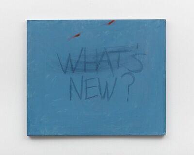 Gene Beery, 'What's New', ca. 1990