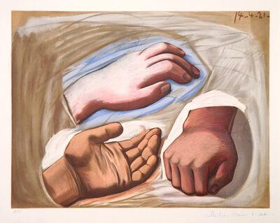 Pablo Picasso, 'Etude de Main ', 1973