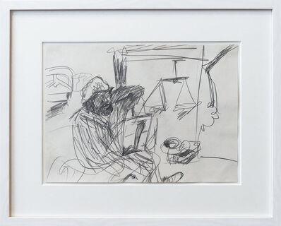 A.R. Penck, 'Gottfried (Bräunling) im Atelier', 20th Century