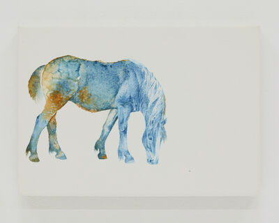 Yoshino Masui, 'A Horse in Three Colors', 2018