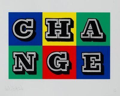 Ben Eine, 'Change', 2016