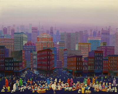 Zhang Gong, 'Weekend in New York', 2011