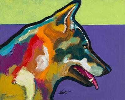 John Nieto, 'Coyote Facing Right', 2016