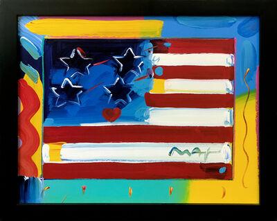 Peter Max, 'FLAG', ca. 2000