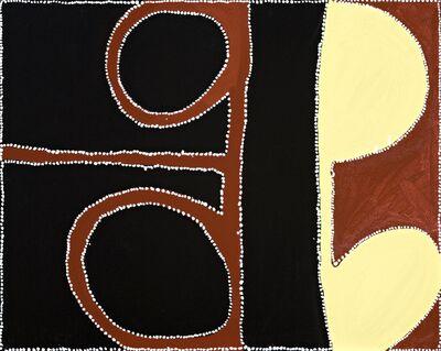 Paddy Nyunkuny Bedford, 'Jamelayigoon - Fig Tree Hole, PB - CB 6 2004.33', 2004