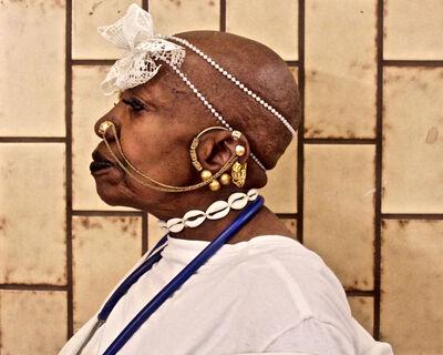 Ruben Natal-San Miguel, 'White Magic Voodoo Priestess', 2016