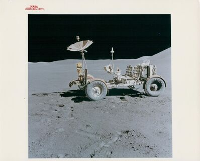 David Scott, 'The Lunar Rover at its final parking place, EVA 3, Apollo 15, August 1971'