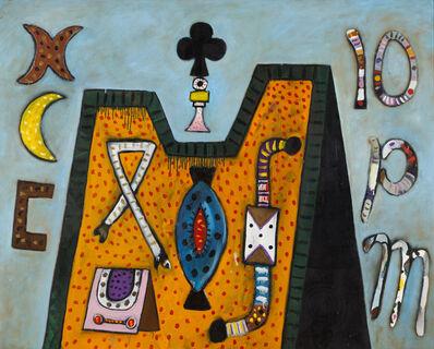 Alan Davie, 'Meditation Castle No. 6'