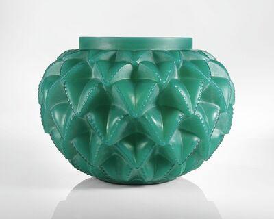 """René Lalique, '""""Languedoc"""" Vase, Marcilhac no. 1021'"""