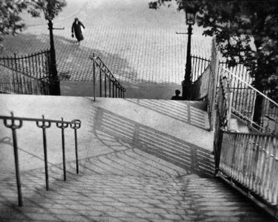 André Kertész, 'Stairs of Montmarte', 1925