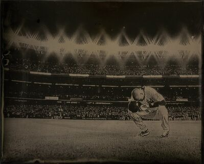 Tabitha Soren, 'Derek Jeter, Final Game in Yankee Stadium, Tintype 1583 (2014)'