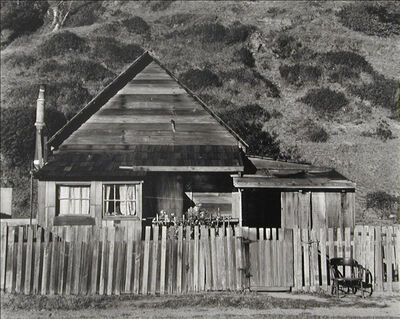 Willard Van Dyke, 'House and Chair, Northcoast', 1937-printed later