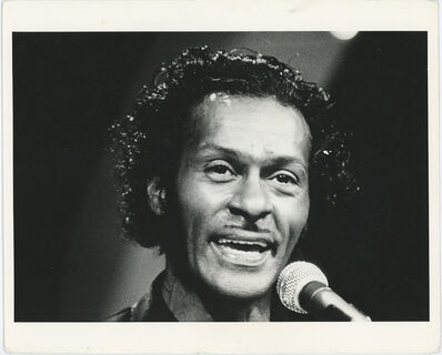 Globe Photo Archives, 'Chuck Berry Performing Live Circa 1980's', ca. 1980's