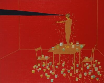 Stephen Chambers, 'Collector Of Thousand Cups', 2002