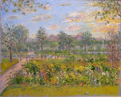 Bruno Zupan, 'Tuileries Garden In August '