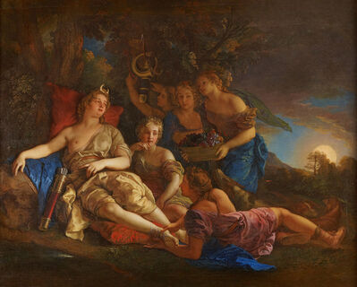 Charles de La Fosse, 'Le repos de Diane (The Rest of Diana)', 1688