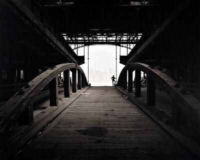 George Tice, 'Ferry Slip, Jersey City', 1979