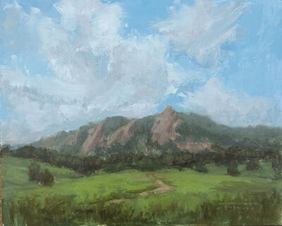 Jane Hunt, 'Clouds over Boulder', 2019