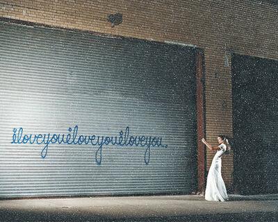 David Drebin, 'I LOVE YOU GIRL DIAMOND DUST', 2020