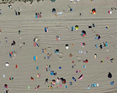 Stephan Zirwes, 'Towels Right,  Zeeland, The Netherlands', 2014