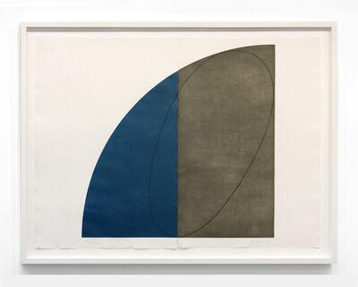 Robert Mangold (b.1937), 'Curved Plane/Figure 1', 1994