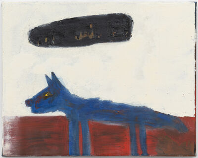 Walter Swennen, 'Blue Dog', 2017